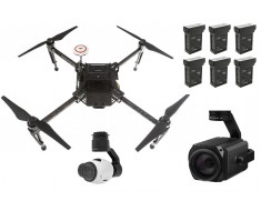 DJI Matrice 100 Custom Remote Inspection & Surveillance Drone Package - Ready-To-Fly Kit M100SEARCHBUNDLE