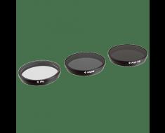 PolarPro DJI Inspire 1 X3 or DJI Osmo Filters (3-Pack) P4001