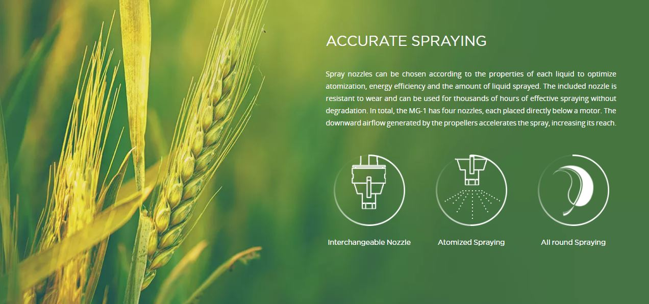 Image result for agras spraying