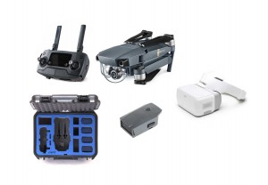 DJI Mavic Pro Bundle - Extra Battery, DJI Goggles, Go Professional Case MAVICBUNDLE1