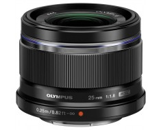 Olympus M.Zuiko Premium 25mm f1.8 Lens Black V311060BU000