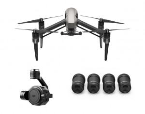 DJI Inspire 2 with Zenmuse X7 & 4-Lens Pack Ultra Bundle INSPIRE2X7LENS4PK