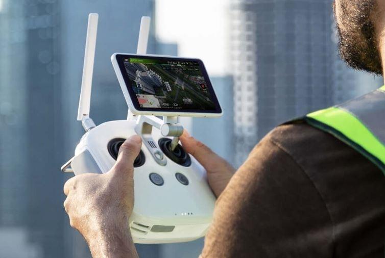 DJI Phantom 4 RTK + D-RTK 2 Mobile Station Combo w/Enterprise Shield