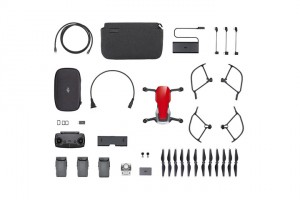 DJI Mavic Air - Ultraportable 4K Quadcopter - Fly More Combo - Flame Red CP.PT.00000174.01