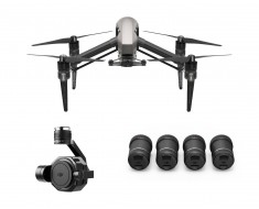 DJI Inspire 2 with Zenmuse X7 & 4-Lens Pack Ultra Bundle INSPIRE2X7LENS4PK