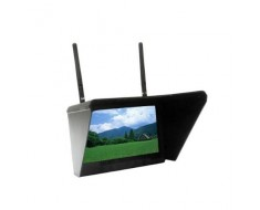 """FlySight 32Ch Black Pearl 5.8Ghz 7"""" Diversity Monitor with Integrated Battery RC801"""