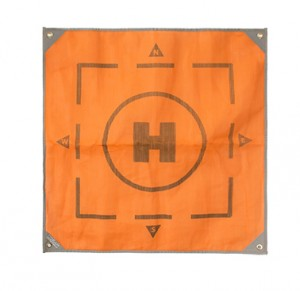 CGear 6' x 6' Orange Drone Landing Pad Mat CD001-16