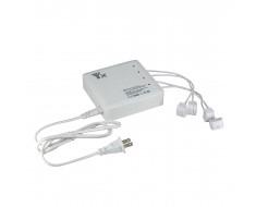 FlyPro 6-in-1 Spark Charger - 4 Battery Ports, 2 USB SPKBRC