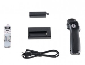 DJI Osmo Handle Kit (Includes Battery, Charger and Phone Holder. Gimbal and Camera not included.) CP.ZM.000261