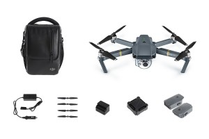 DJI Mavic Pro Fly More Combo Quadcopter with 4K HD Camera (DJI Refurbished) CP.PT.000642.02.E