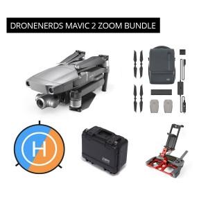 DJI Mavic 2 Zoom Bundle - Fly More Kit, Tablet Holder, GPC Case & More MAV2ZOOMDNBUNDLE