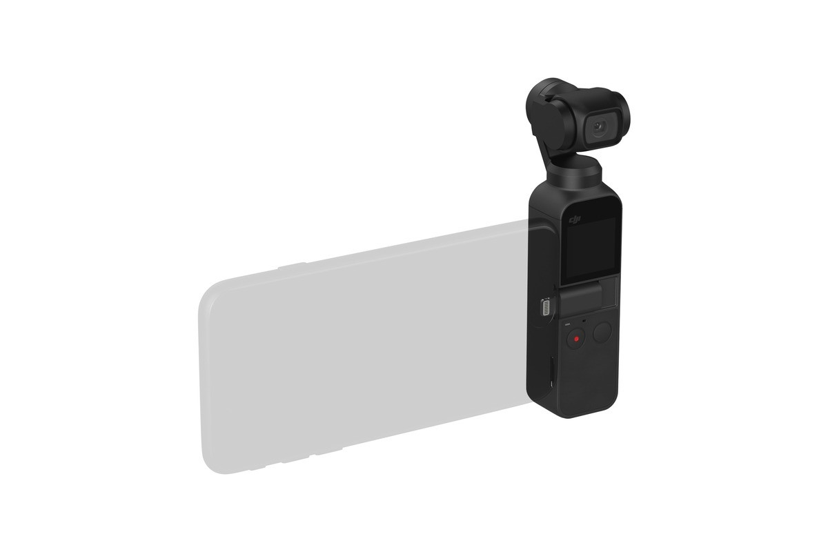 DJI Osmo Pocket - 4K / 60FPS Handheld 3-Axis Camera