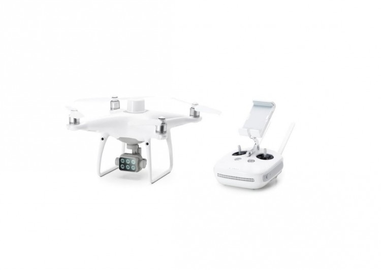 DJI P4 Dron Agricultura Multiespectral