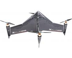xCraft - X PlusOne Platinum Quadcopter - Black  XCRAFT