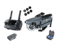 DJI Mavic Pro Drone Bundle Pack - 1 Extra Battery, Hard Case, PolarPro Camera Filters MAVICPROBUNDLE