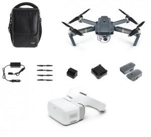 DJI Mavic Pro Fly More Combo + DJI Goggles Bundle  MAVICFLYMOREGOGGLES