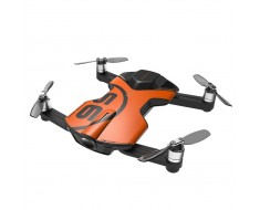 Wingsland S6 Pocket RC Quadcopter FPV Selfie Drone 4K HD Camera S6 Orange