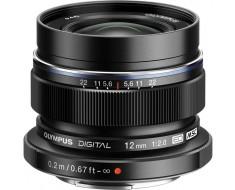 Olympus M.Zuiko Premium 12mm f2.0 Lens Black V311020BU001