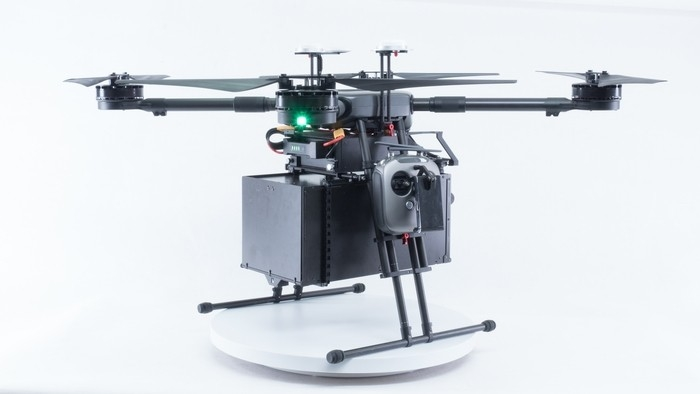 Buy DJI Wind 4 Industrial Quadcopter Drone IP43 Rain and